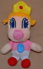 "5"" Baby Peach Princess Plush Dolls Toys Stuffed Animal Super Mario Brothers Bros"