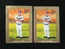 (2) ALEX GORDON ROOKIES 2007 TOPPS TURKEY RED ROYALS RC BASEBALL CARDS