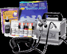 Iwata Airbrush Art Kit with Silver Jet