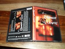 The Element of Crime (DVD, 2000, Criterion Collection) SPINE 80