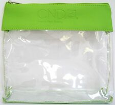 CND ESSENTIALS TRAVEL BAG~Clear Purse for cosmetic, polish, pens NEW Party Favor