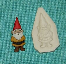 Garden Gnome Handmade Polymer Clay Push Mold DIY Jewelry 0 S/H AFTER 1st item