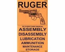 Ruger Revolvers Single & Double  Do Everything Manual DISASSEMBLY CARE BOOK NEW