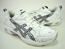 ASICS WOMEN'S GEL-TRX TRAINING SHOES WHITE/SILVER/NAVY US SIZE 12 MEDIUM (D, M)