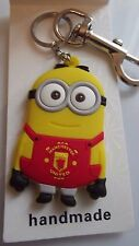 STRONG LARGE KEYRING MANCHESTER UNITED DOUBLE SIDED [ GIFT BAG ,BIRTHDAY