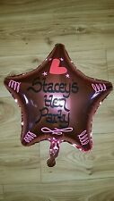 Personalised Helium Foil Balloon Hen Party