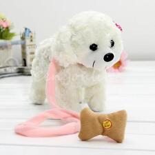 White Singing Dancing Walking Electronic Moving Pet Dog Kids Birthday Gift Toy