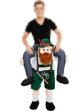 Carry Me Ride on Bavarian Beer Guy Mascot Costume V2 Oktoberfes Fancy Dress