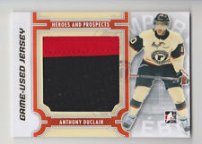 ANTHONY DUCLAIR 2013-14 ITG Heroes & Prospects Gold Game Used Jersey /10