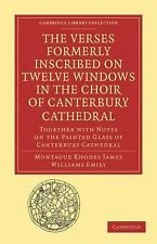 Cambridge Library Collection - Medieval History Ser.: The Verses Formerly...