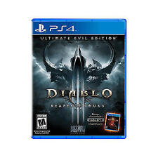 PLAYSTATION 4 DIABLO III REAPER OF SOULS ULTIMATE EVIL EDITION BRAND NEW