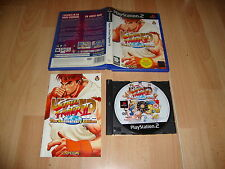 HYPER STREET FIGHTER II THE ANNIVERSARY EDITION DE CAPCOM PARA LA SONY PS2 USADO