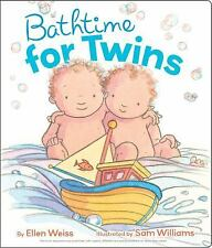 Bathtime for Twins-ExLibrary