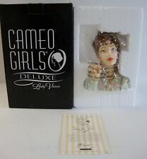 "New Cameo Girls Deluxe Lady Head Vase Abigail 1812 ""PEN PAL"" MIB  #509/ 1500"