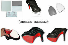 Red Textured/Rubberized Shoe Sole Protector Slip Resistant for Louboutin or more