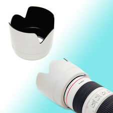 White ET-86 Lens Hood Shade 77mm Thread for Canon EF 70-200mm f/2.8L IS USM JJC