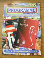 Jul-2005 Programme Monthly & Collectable: The Voice Of 'Football Programme' Coll