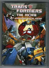 Transformers The Movie 20th Anniversary Special Edition 2-disc DVD set twentieth