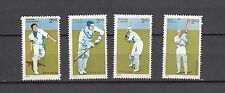 India 1996 Cricket set of 4 Stamps MNH