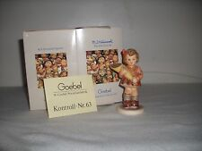 "Hummel Goebel 549/3/0 - Girl With A Flower Bouquet 1992""Signed"