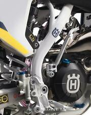 Husqvarna Frame guard sticker set White FE 350 2017 PN:2610399410028 HTM Offroad