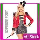 Ringmaster Circus Lion Tamer Showgirl Fancy Dress Halloween Costume Outfit Hat