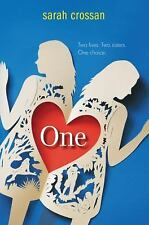 One by Sarah Crossan (2015, Hardcover)