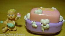Polly pocket mini ♥ Mimi & the goo goos ♥ Joli bébé dans une coque de savon ♥