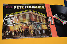 PETE FOUNTAIN LP STANDING ROOM ONLY 1°ST ORIG USA EX TOP AUDIOFILI JAZZ