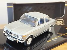 IXO BMW 2002 TII 1972 SILVER CAR MODEL CLC253 1:43