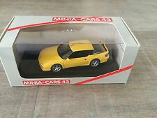 Minia-cars 1/43 Alpine A610 Turbo 1993 yellow French handbuilt resin n° 03.210