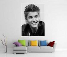 JUSTIN BIEBER GIANT WALL ART PRINT POSTER H26