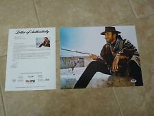 Clint Eastwood Good Bad Ugly Signed Autographed 11x14 Photo PSA Certified #4