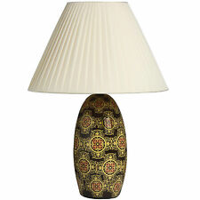 BEST QUALITY BEAUTIFUL TERAMO ANTIQUE PATTERN TABLE LAMP UNIQUE DESIGN NEW BOXED