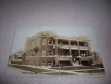 1910 HEINY'S APARTMENTS GARY INDIANA IN. ANTIQUE RPPC POSTCARD