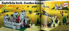 LEGO -- levatoio altamente -- Ivanhoe arriva -- Pubblicità di 1984 -- a lungo