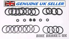 Suzuki GSXR 1100 WP WR WS WT front Tokico 6 pot caliper seal kit 1993-1996