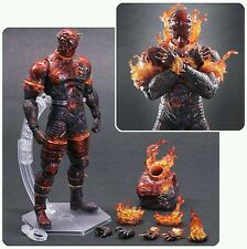 Metal Gear Solid V: The Phantom Pain The Man on Fire Play Arts Kai Figure