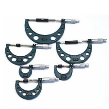 Outside Micrometer  0-150mm Precision M-Type Outside Micrometer 6 Pcs/Set