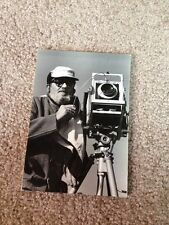 Original Photo ANSEL ADAMS Picture Of Photographer HImself Portrait Super Rare