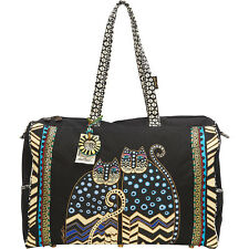 Laurel Burch Polka Dot Gatos Shoulder Bag - Multi
