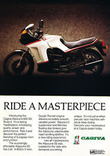1987 Cagiva Alazzurra 650SS -  Original Motorcycle Advertisement Print Ad J287