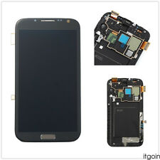 New LCD Touch Screen Glass Digitizer Frame For Samsung Galaxy Note 2 N7105 i317