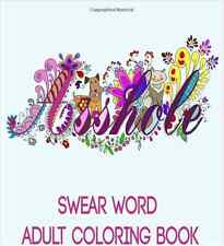 Adult Coloring Books Swear Word Anti Stress Relaxing Calm Patterns 2016  Gift..