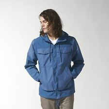Mens Adidas Originals Wind Rider Jacket Windbreaker Blue UK Size XL NEW