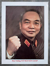 General Vo Nguyen Giap Poster - A3 Size - Vietnamese