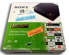 Sony BDP-S1500 Wired Streaming Blu-Ray Disc DVD Player With Remote Original Box