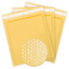 50PCS #000 4x7 Kraft Padded Bubble Shipping Mailing Self Sealing Envelopes