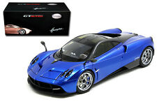 Welly GT AUTOS 1/18 Scale Pagani Huayra Blue Diecast Car Model