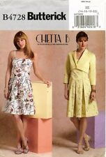 Butterick Misses' Petite Jacket and Dress Pattern B4728 Size 14-20 UNCUT
